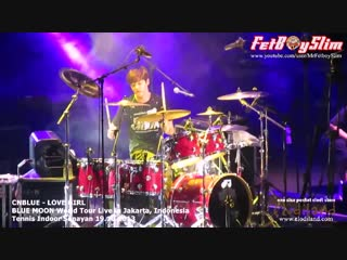 131019 CNBLUE - LOVE GIRL ( Yong Hwa Played Basket Ball intro ) live in Jakarta, Indone