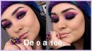 Maquillaje Morado Con Anna Beauty Creations | Monika Sanchez