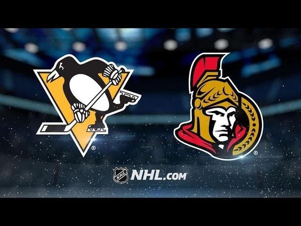 Pittsburgh Penguins vs Ottawa Senators | Nov.17, 2018 | Game Highlights | NHL 2018/19 | Обзор Матча