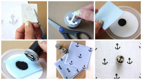 Как сделать штампы своими руками видео