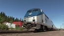 Amtrak Starlight 14 From Klamath Falls to Eugene, OR 6-22-17