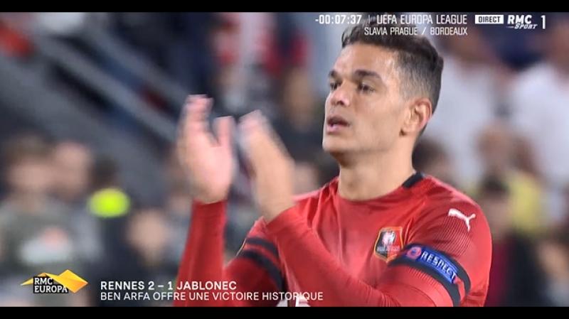 Rennes vs FK Jablonec 2-1