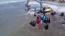 Касатку, выброшенную на берег, спасатели вернули на глубину