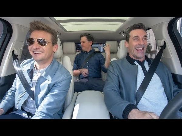 Apple Music — Carpool Karaoke — Stars of 'Tag' — Jon Hamm, Ed Helms Jeremy Renner