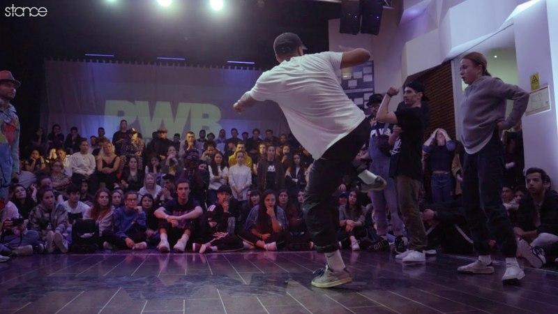 The Twelve Breeze vs Maximus Nastia (hip hop semi) .stance Porto World Battle 2018