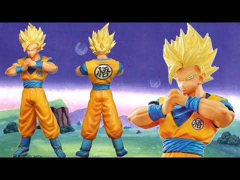 UNBOXING: Super Saiyan 2 Goku - Dragon Ball Super - DXF The Super Warriors - Banpresto