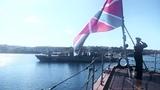 Новый фрегат Адмирал Макаров прибыл в Севастополь