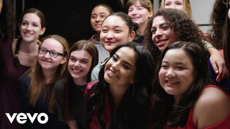 Becky G X Manhattan Girls Chorus: J.Lo, Following Your Dreams and Overcoming Negativity