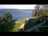Вид на озеро Валдай)