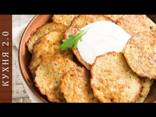 Рецепт драников из картошки (The recipe for potato pancakes)