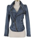 Denim Sleeveless Jacket For Women