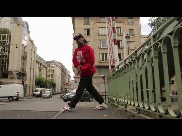 Fabrice in Canal St Martin Hiphop Dance Paris France | YAK FILMS