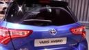 2018 Toyota Yaris hybrid 360 Walkaround Frankfurt Auto show 2017