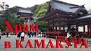 ЯПОНСКИЙ ХРАМ, самураи и непуганая жрачка
