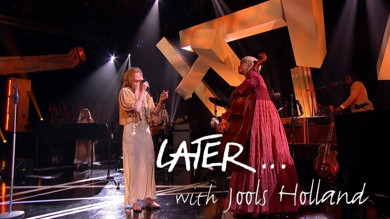 Florence The Machine and guest Kelsey Lu perform 100 Years on Later with Jools