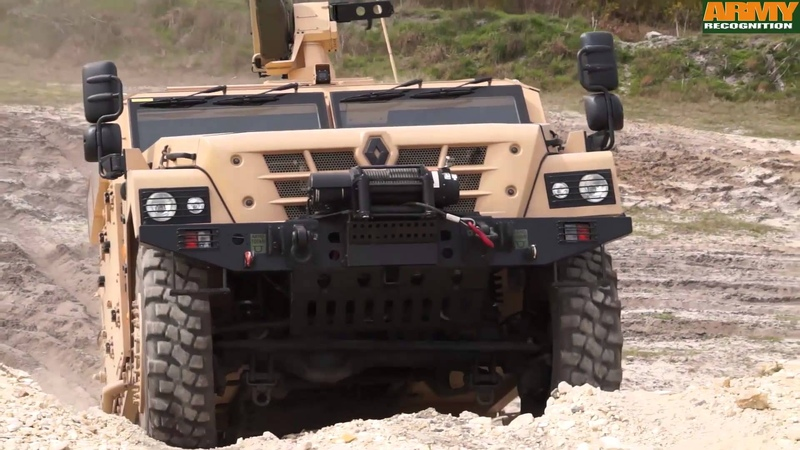 Sherpa Light Scout Renault Trucks Defense 4x4 tactical armoured vehicle high mobility and payload