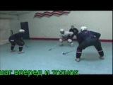 Видеоурок Силовая борьба в хоккее