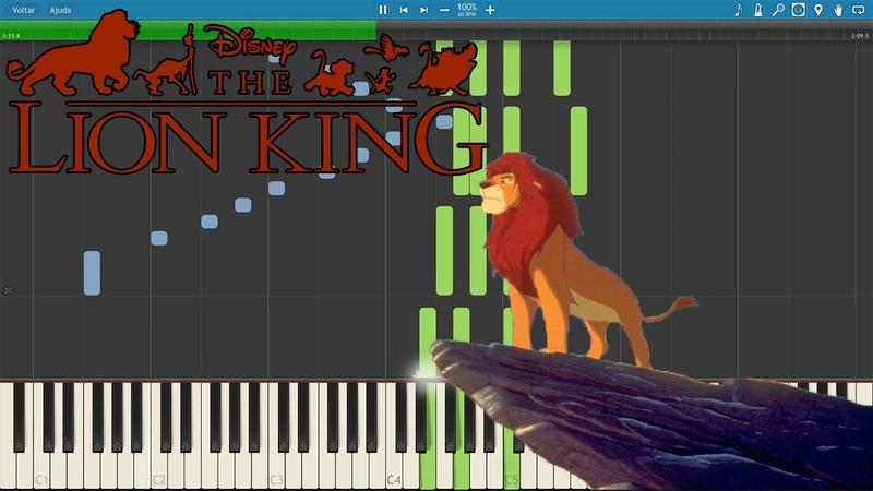 Lion King King of Pride Rock Kyle Landry version Piano Tutorial