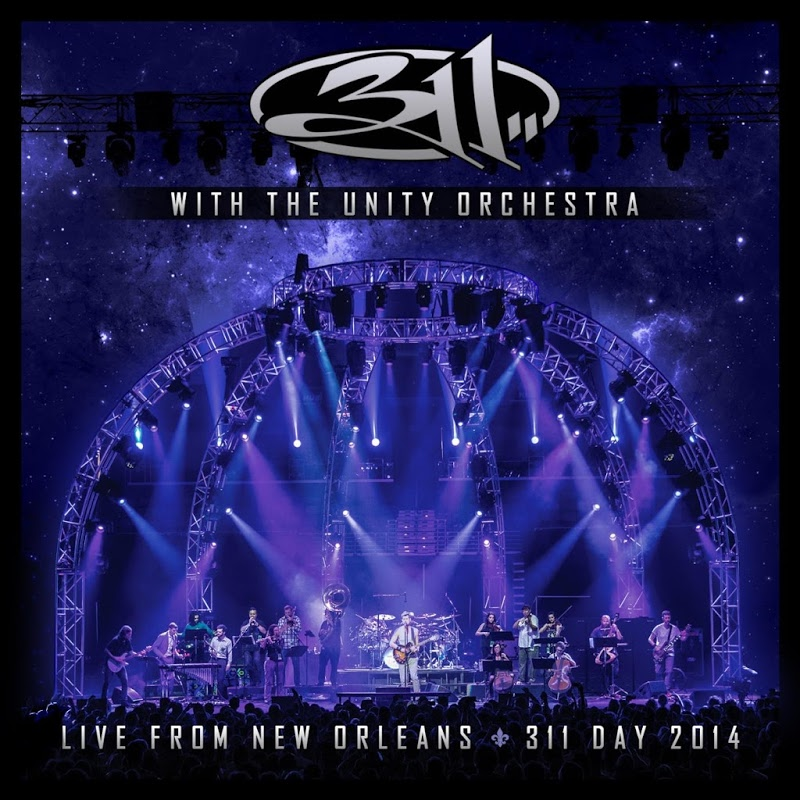 311 - With The Unity Orchestra: Live from New Orleans: 311 Day 2014-cover