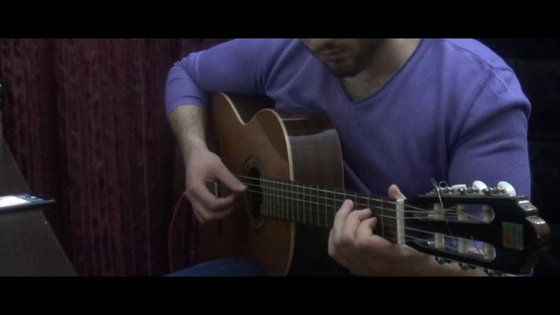 Lara Fabian je t'aime Fingerstyle Guitar cover