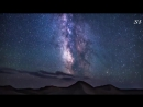Красивый ролик Ночное небо