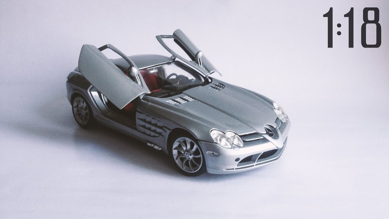 Repainting and detailing 1:18 Mercedes SLR McLaren by Maisto