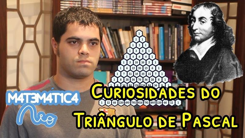 Curiosidades do Triângulo de Pascal   Matemática Rio