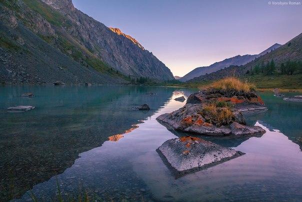 Верхнее Шавлинское озеро, Алтай.