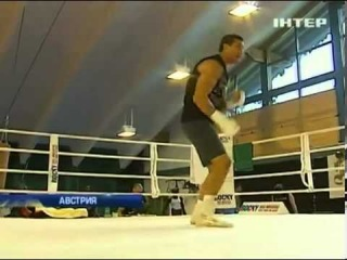 Владимир Кличко готовится к бою с Поветкиным!