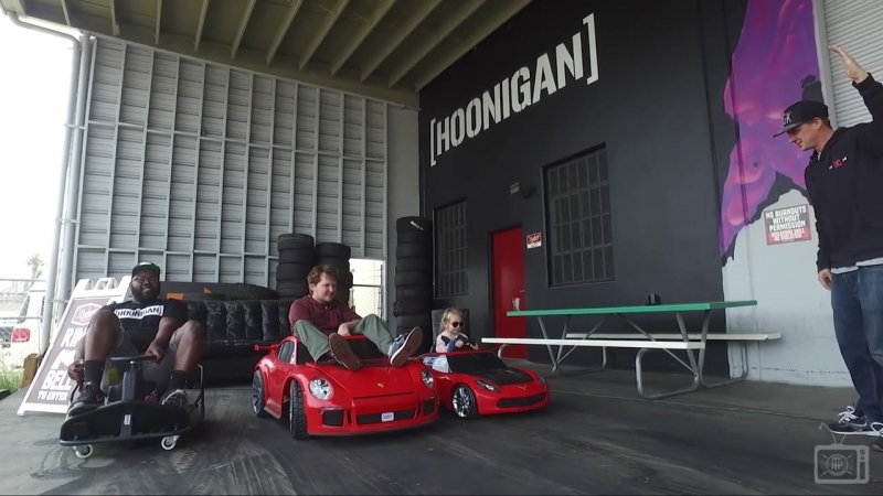 [HOONIGAN] DT 003_ 5 Year-Old Lila Kalis Shreds the Donut Garage