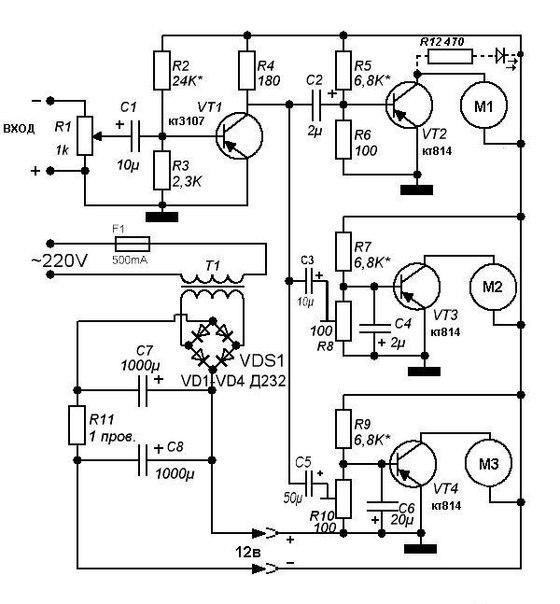 Радиоэлектроника - схемы и