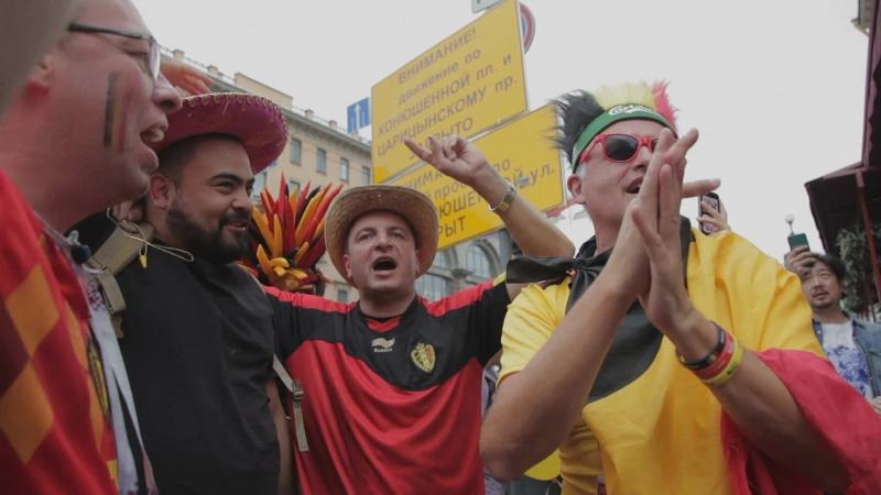 Бельгийцы распеваются в Петербурге