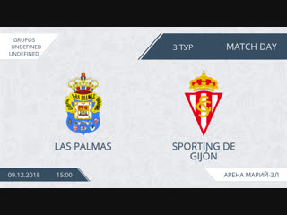 🇪🇸👑copa del rey | обзор центрального матча 3 тура afl spain yoshkar-ola 2018 | las palmas - sporting de gijon