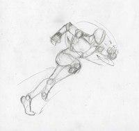 Человек-паук в БЕГЕ урок рисования карандашом.