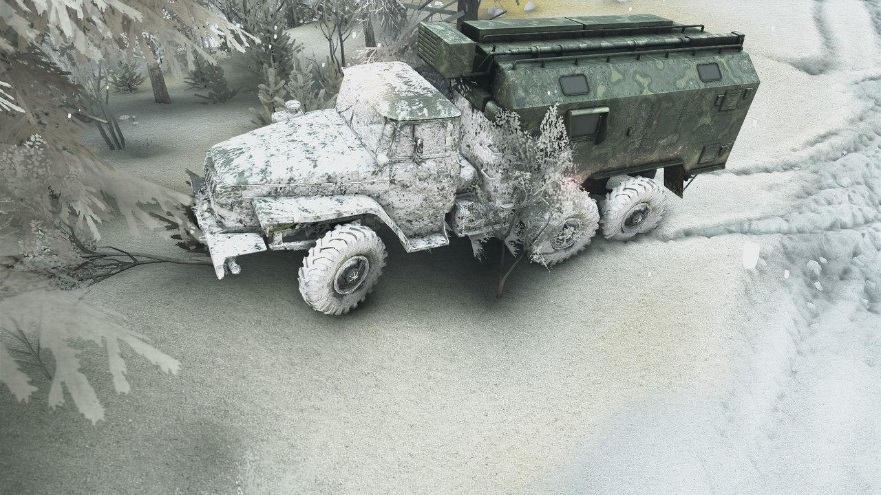 Карта Зимний сезон + Падающий снег SPIN TIRES -gzjnGYfjKY