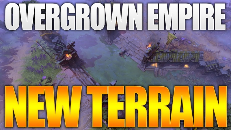 Dota 2 Overgrown Empire New Terrain TI9 Battle Pass