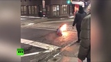 Man caught on fire after being tased