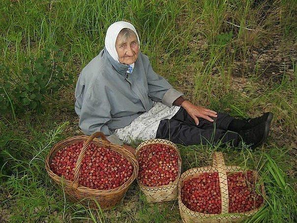 Бабушка-красавица!