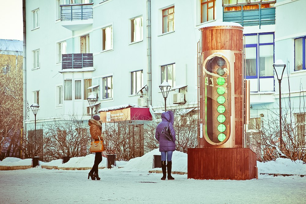 Барометр настроения в стиле стимпанк появился в Екатеринбурге (Фото 21)
