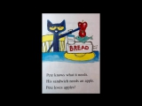 Petes Big Lunch (Pete the Cat) - read aloud by Mark  Maddie