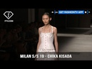 Milan Fashion Week Spring Summer 2019 Chika Kisada FashionTV FTV