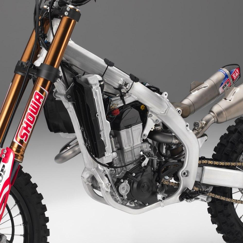 Обновленный модельный ряд кроссбайков Honda CRF 2019