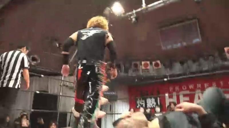 CHANGO Shinya Ishida vs Hide Kubota Kenichiro Arai HEAT UP Powerful Tag Tournament 2018 Day 1