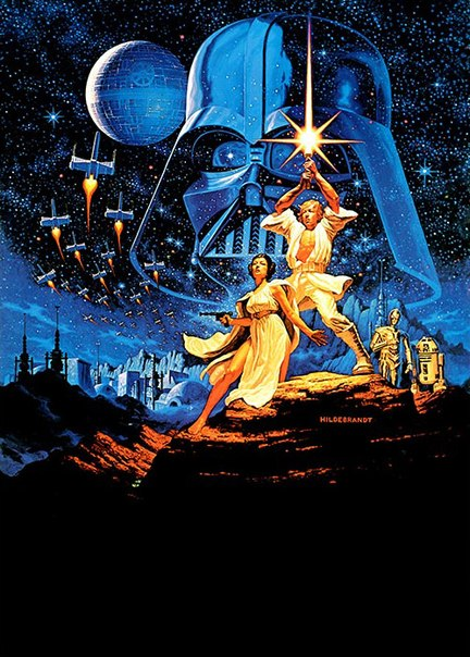 Купить постер Star Wars