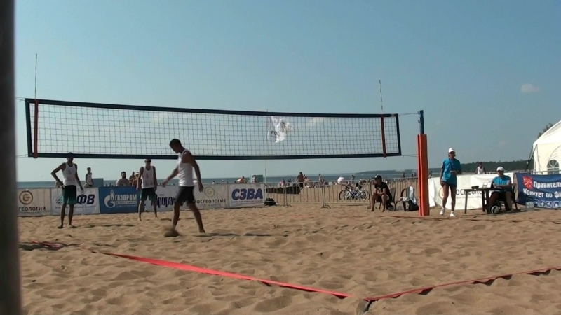 Beach volley Russia Solnechnoe 2018 M 07 Kuzimn- and Likholetov-Gorbenko