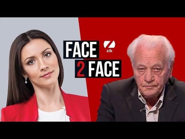 🇺🇦 Степан Хмара, Герой України, у програмі FACE 2 FACE з Тетяною Даниленко Хмара