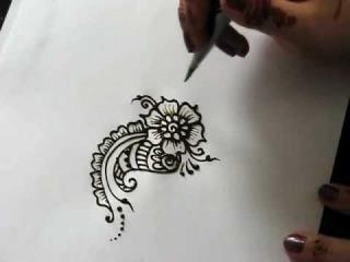 Цветок хной