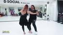 Val Clemente Vanessa Bonilha, ZoukRUSH Nov 2018 at Zouk Dance Academy - Fri post-workshop improv