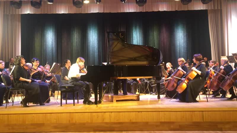 Липецкий симфонический оркестр солист Даниил Третьяков Россия