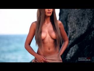 Мария Горбань голая в фотосессии для Maxim Россия (2013) HD 1080p